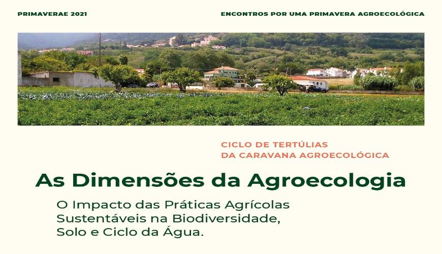 3 tertúlias sobre a dimensão agroecológica